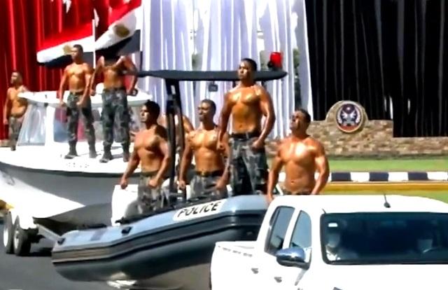 Выпускники полицейской академии в Египте