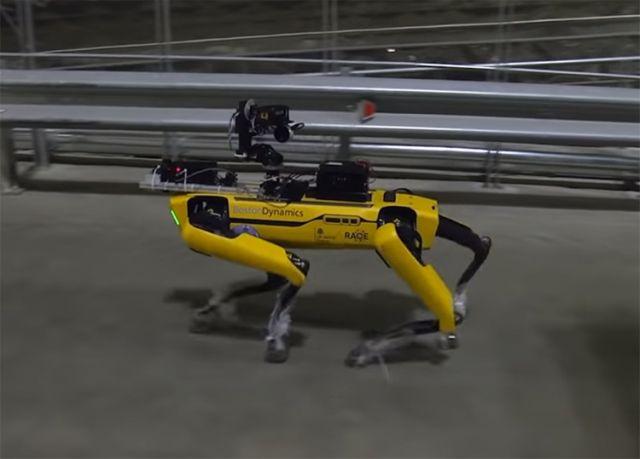 Робопес SPOT от Boston Dynamics в Чернобыле