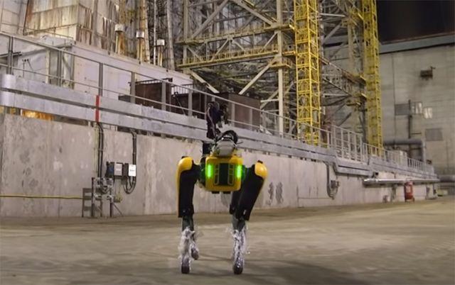 Робопес SPOT от Boston Dynamics