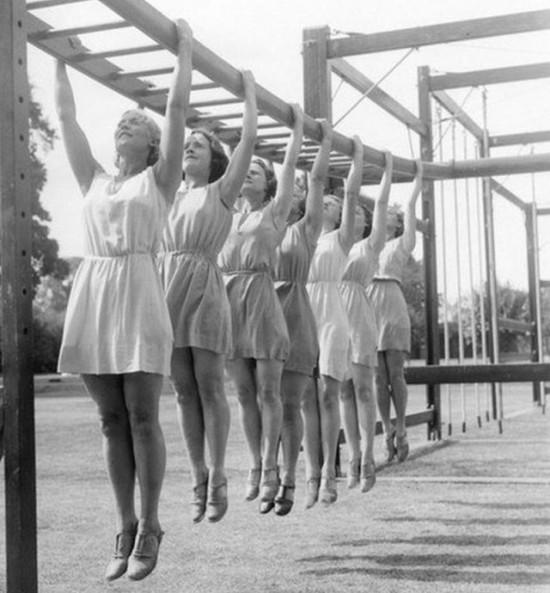 Урок физкультуры, Москва. СССР