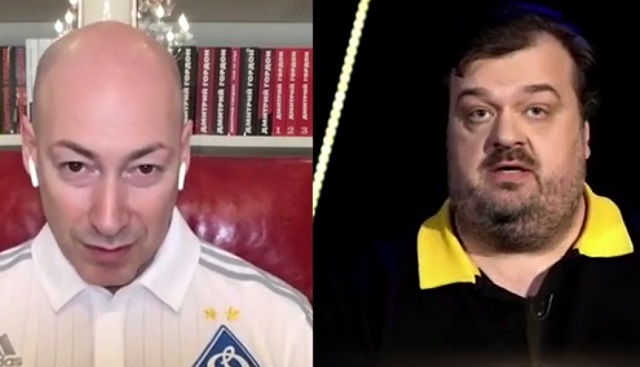 Дмитрий Гордон и Василий Уткин
