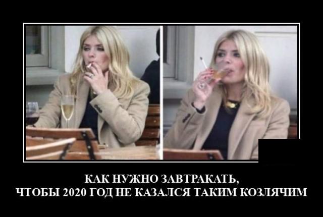 Демотиватор про 2020 год
