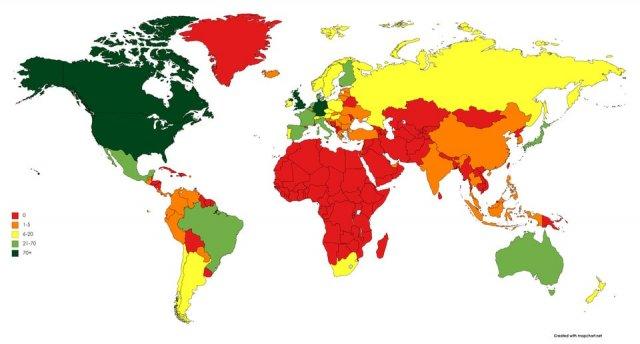 Сколько раз Металлика давала концерты в разных странах