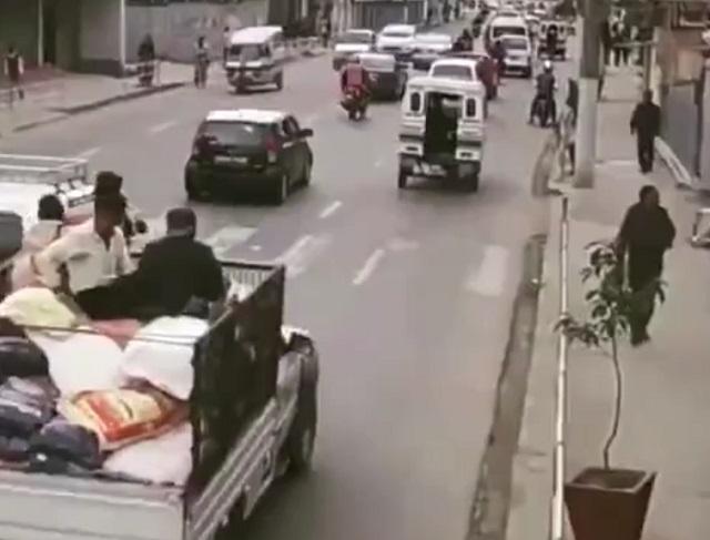 Оживленная улице