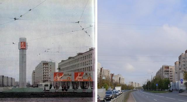 Санкт-Петербург: как было и как стало сейчас (15 фото)