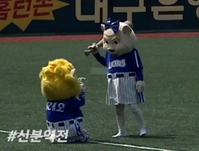 бейсбольные талисманы в Южной Корее