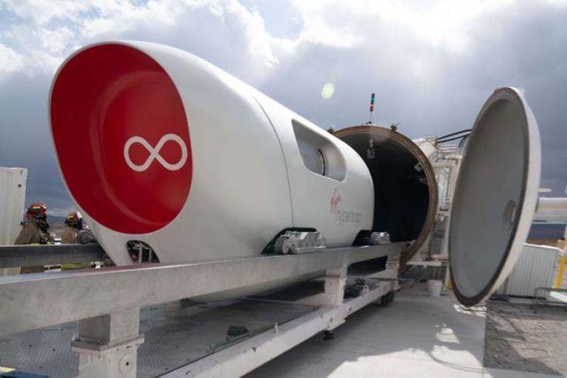 Вакуумная капсула Hyperloop