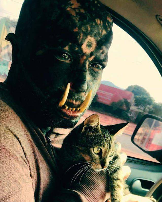 Орк с котом