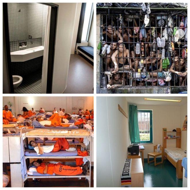 Как выглядят тюремные камеры в разных странах мира (14 фото)