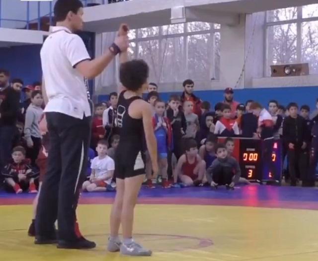 Соревнования по борьбе