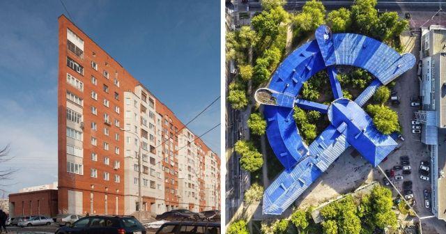 Интересные архитектурные сооружения с просторов России