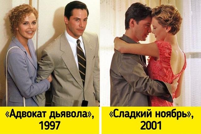 Киану Ривз и Шарлиз Терон