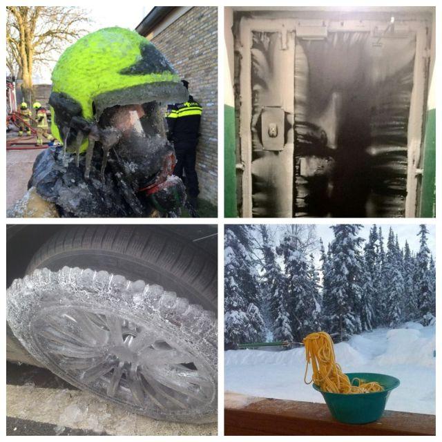 Подборка ледяных и очень холодных фотографий