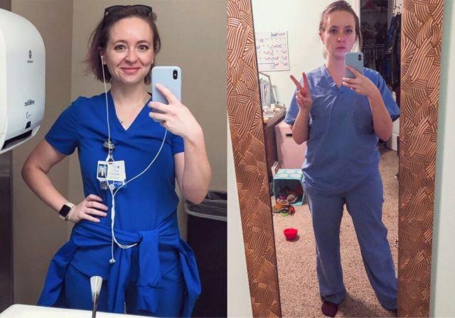Медсестра Кэтрин Айви показала как ее изменила работа