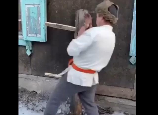 Тренировочный лагерь мастеров кунг-фу