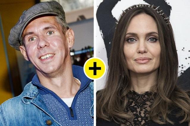 Алексей Панин и Анджелина Джоли