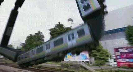 Странный поезд