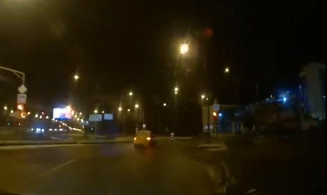 Сбили ДПСника в Москва