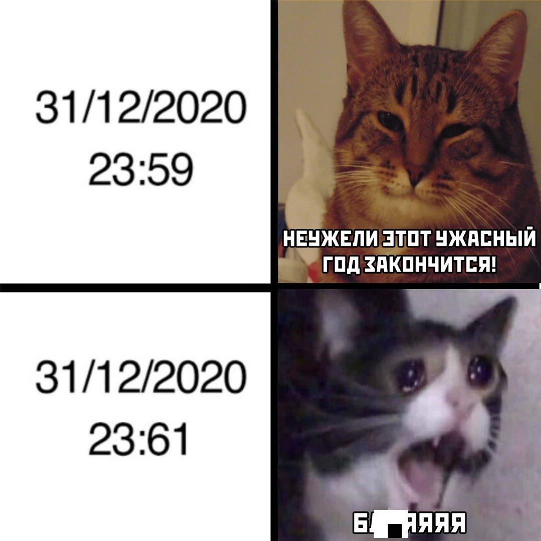 Шутки, мемы и картинки про Новый год 2021 (30 фото)
