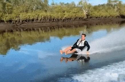 Скольжение по воде