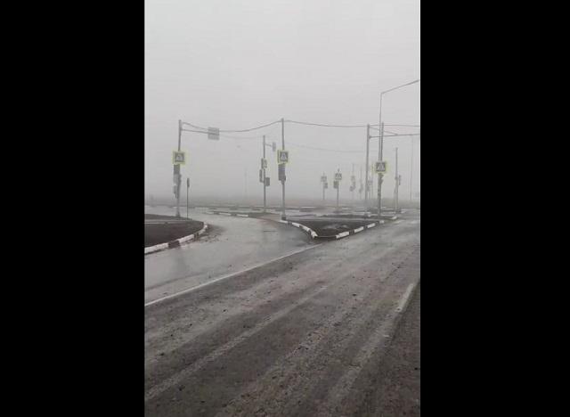 Светофоры на перекрестке