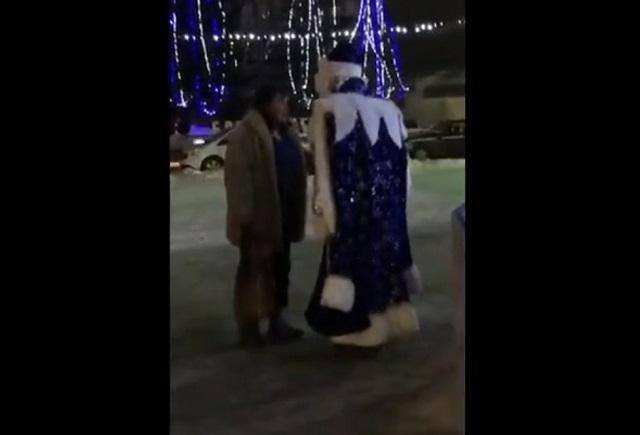 Драка с Дедом Морозом