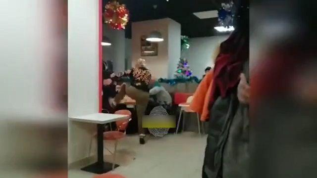 Драка в кафе в Нижнем Тагиле