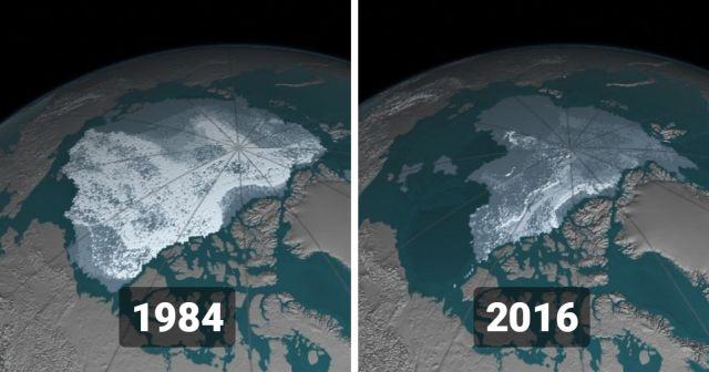 Фотографии со спутников от НАСА