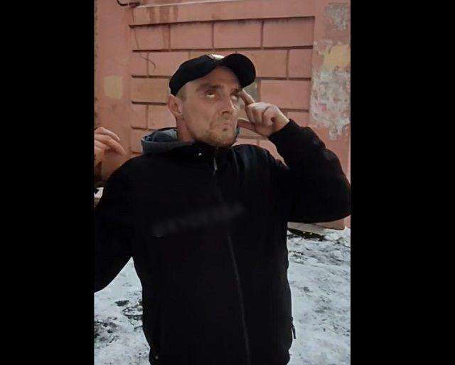 Наркоман из Одессы