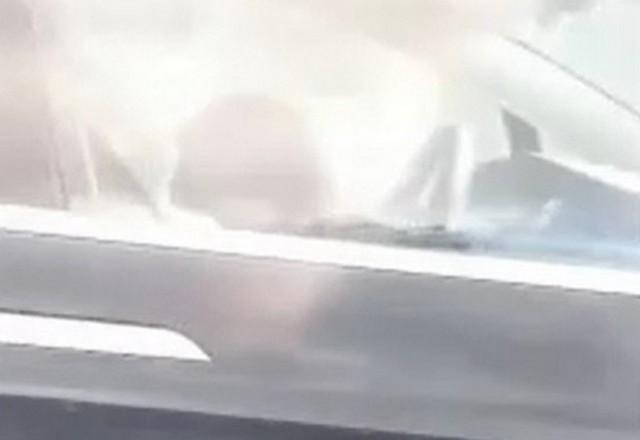 Автопилот Tesla рулит - люди спят