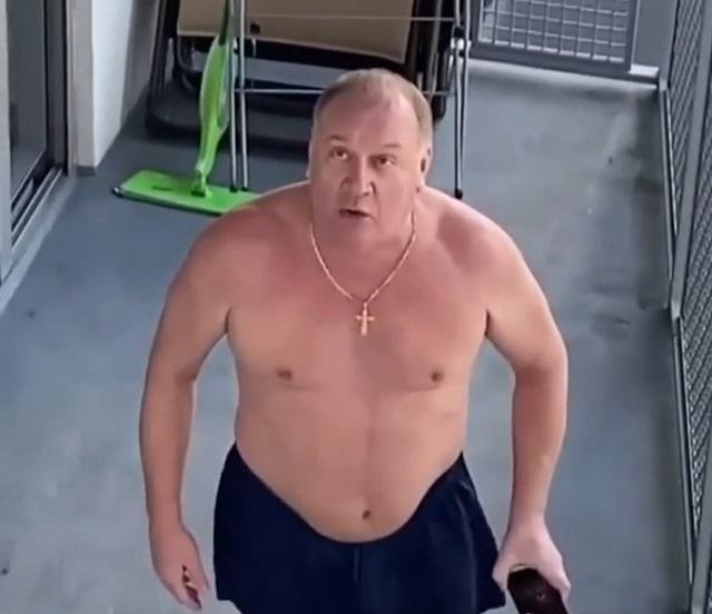 Злой русский турист