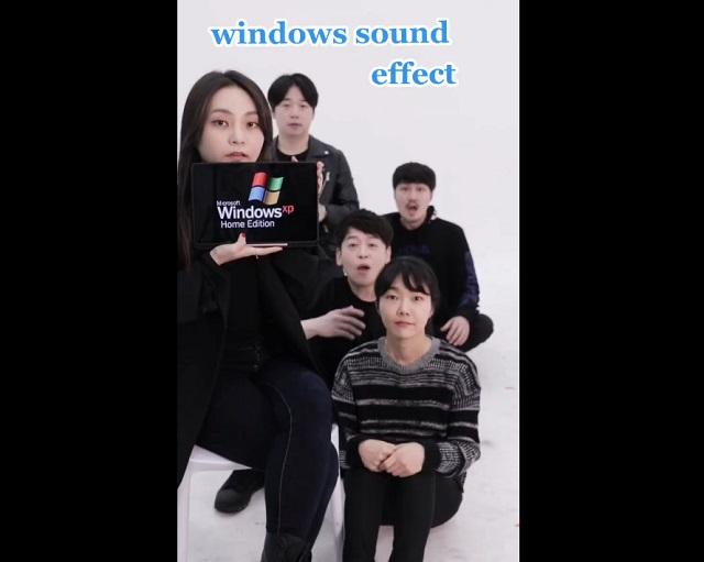 Повторяют звуки Windows