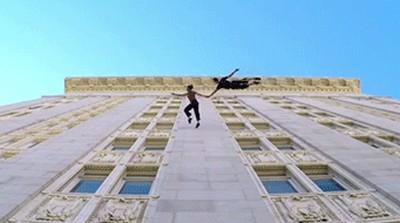 Прыжки на здании