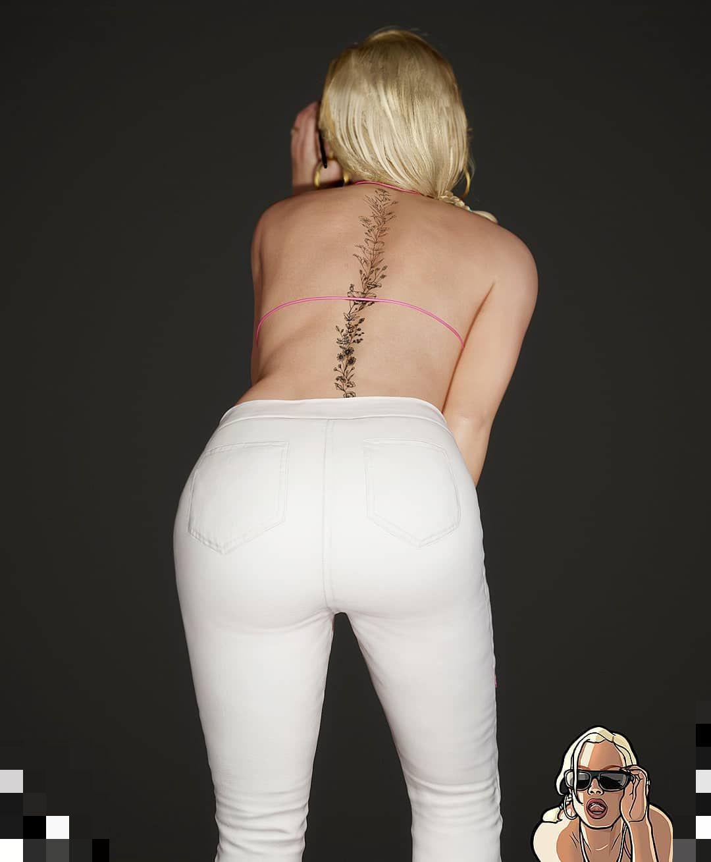 Как бы выглядела блондинка Rochell'le из GTA: San Andreas в реальной жизни (10 фото)