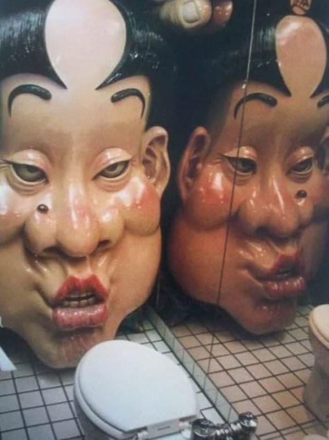 Жуткий японский туалет