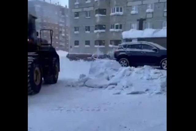 уборка снега в норильске