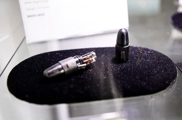 Капсула для скрытого провоза фотопленки в физиологических отверстиях