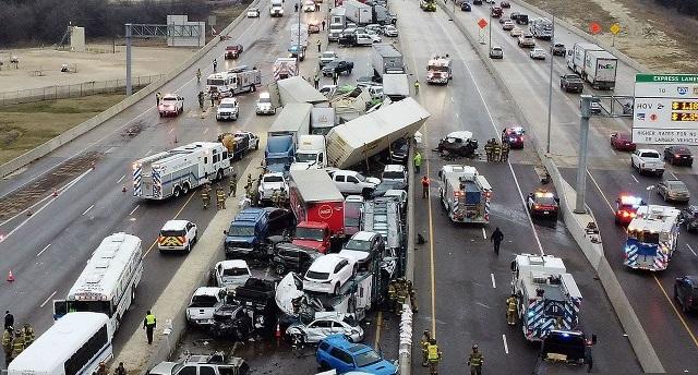 Авария в Техасе