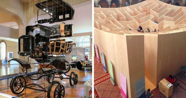 Подборка интересных и нескучных фишек из разных музеев мира