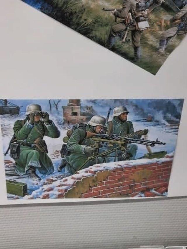 Солдаты вермахта на картинке
