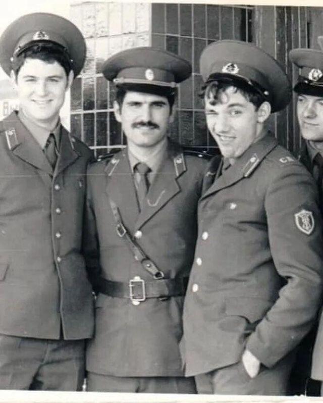 Леонидов и Фоменко в армии