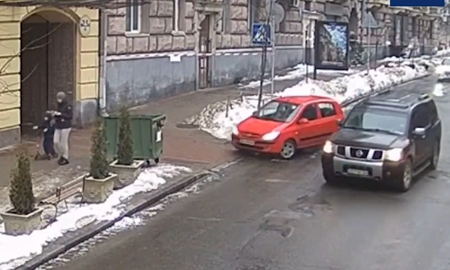 Водитель из Киева