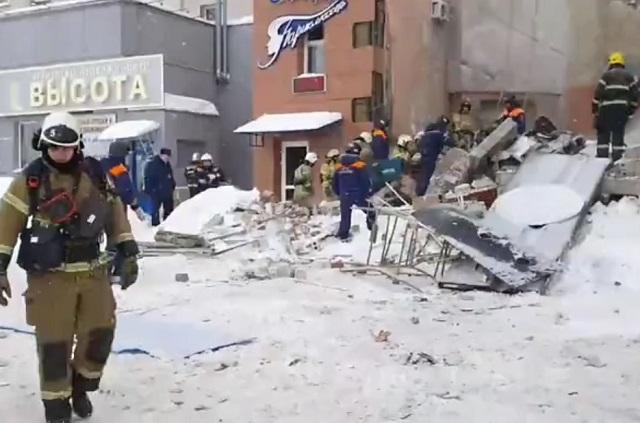 Взрыв газа в Нижем Новгороде