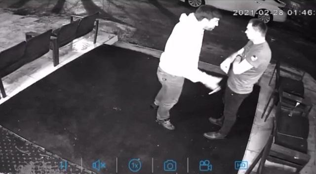 Конфликт возле бара