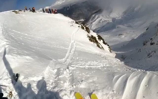 лыжник в сочи