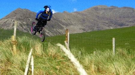 Сальто на велосипеде