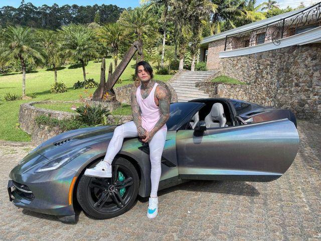 Еферсон Коссио и его машина