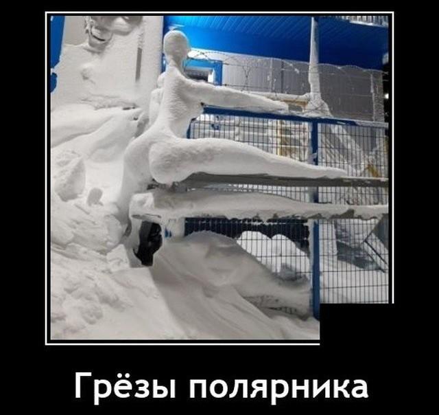 Демотиватор про полярников