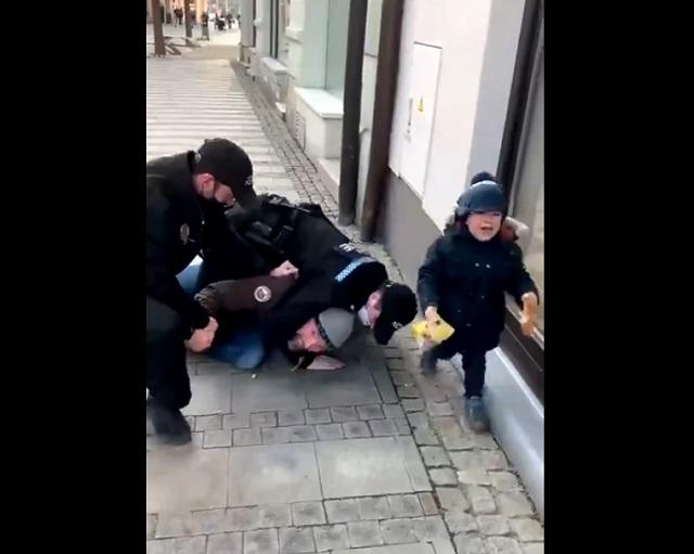 Задержание мужчины из Чехии