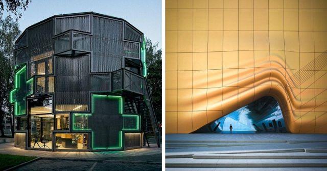 Примеры удивительной современной архитектуры